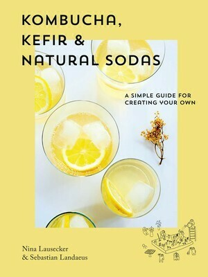 Kombucha, Kefir & Natural Sodas: A simple guide to creating your own by Nina Lausecker