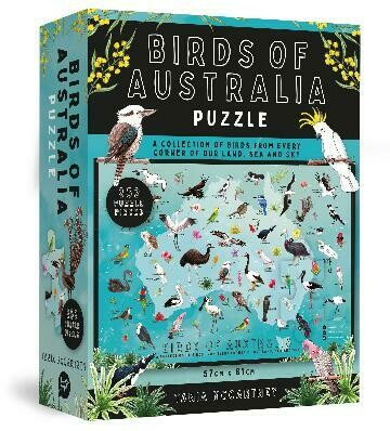 Birds of Australia Jigsaw Puzzle Tania McCartney