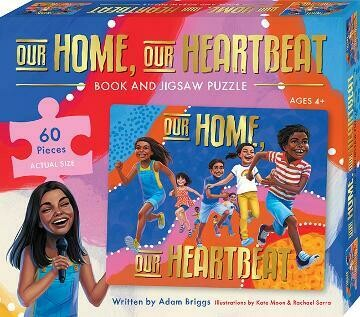Our Home, Our Heartbeat Book and Puzzle Set (available from 18 November 2020)