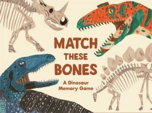 Match these bones by Laurence King A Dinosaur Memory Game