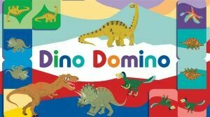Dino Domino by Laurence King