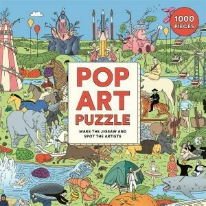 Pop Art Puzzle by Laurence King