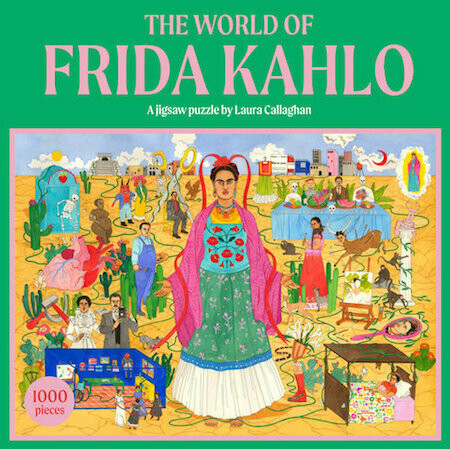 The World of Frida Kahlo: A Jigsaw Puzzle by Holly Black, illustrations by Laura Callaghan