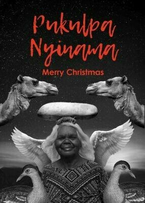Christmas Card Bush Nativity - NPYWC