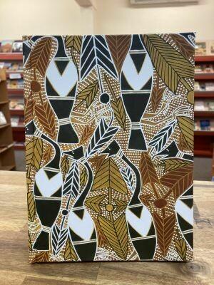 Blank Journal 'Magpie Geese' by George Milpurrurra