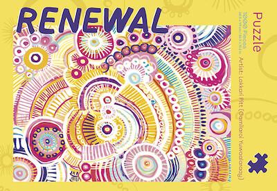 Renewal 1000 piece puzzle by Lakkari Pitt