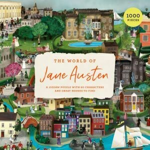 The World of Jane Austen A Jigsaw Puzzle with 60 Characters and Great Houses to Find (available at the beginning of March 2021)