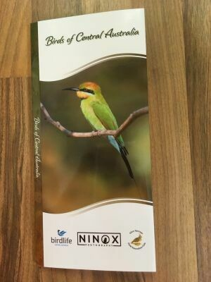 Birds of Central Australia by Lisa and Peter Nunn