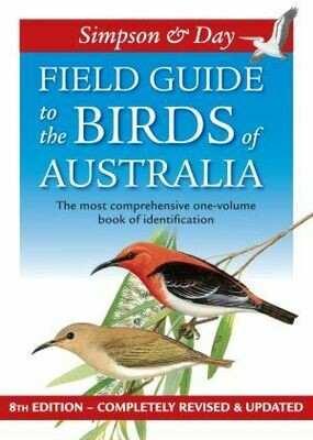 Field Guide to the Birds of Australia - 8th Edition by Nicolas Day and Ken Simpson