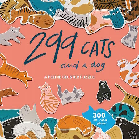 299 Cats (and a dog): A Feline Cluster Puzzle by Léa Maupetit