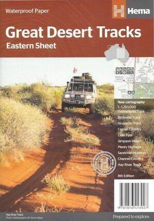 Great Desert Tracks Map Eastern Sheet