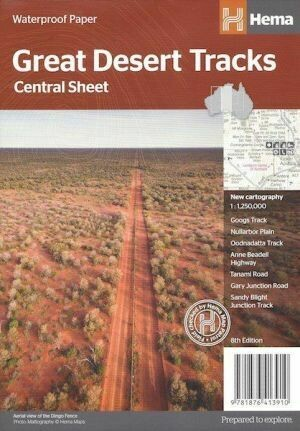 Great Desert Tracks: Central Sheet