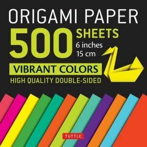 Origami Paper 500 Sheets Vibrant Colors