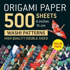 Origami Paper 500 sheets washi patterns