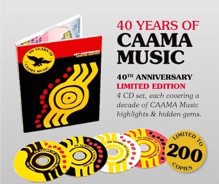 CAAMA Music - 40th Anniversary CD - Limited Edition
