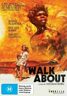 Walk About by Nicolas Roeg. DVD