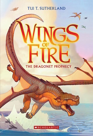 Wings of Fire #1: Dragonet Prophecy by Tui T. Sutherland