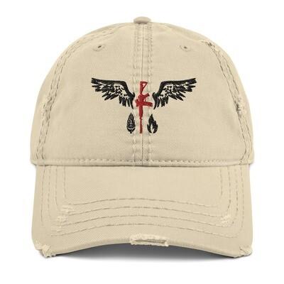 Distressed Hat Tan