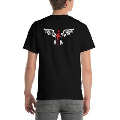 Grid Down Logo - Classic Fit T-Shirt