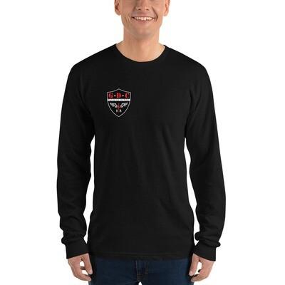 Grid Down Logo - Long sleeve t-shirt