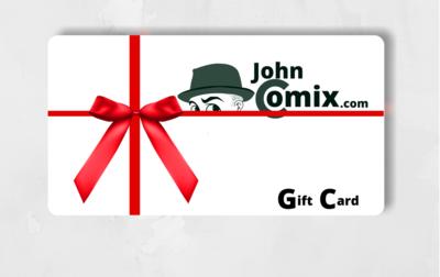 JohnComix .com Gift Card