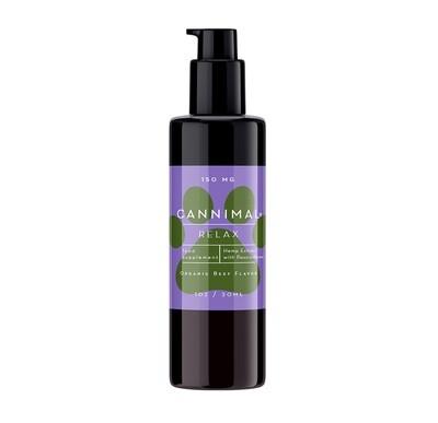 Cannimal Relax Formula Full Spectrum Hemp Oil Extract + Passionflower