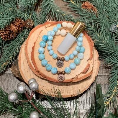 Larimar Bracelets & Elixir Gift Set