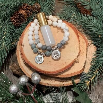 Howlite Bracelets & Elixir Gift Set