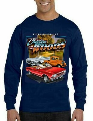 Cruise to the Woods Sweatshirts (available for shipping Apx. June 1)
