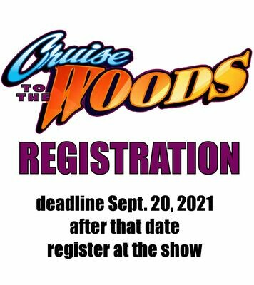2021 Cruise to the Woods Pre-Entry