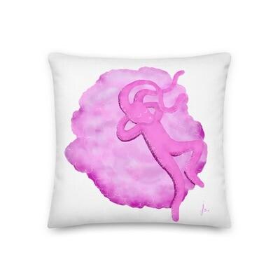 Dreaming of Kaws Super Fluffy Pillow