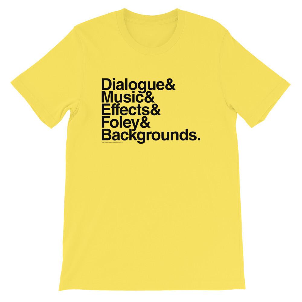 Audio Stems T-Shirt Unisex