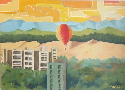 Balão nas Dunas - Série Torres