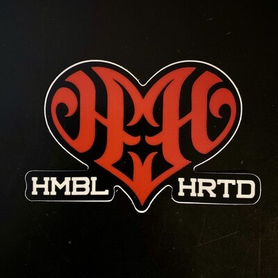 HUMBLE HEARTED Sticker v1