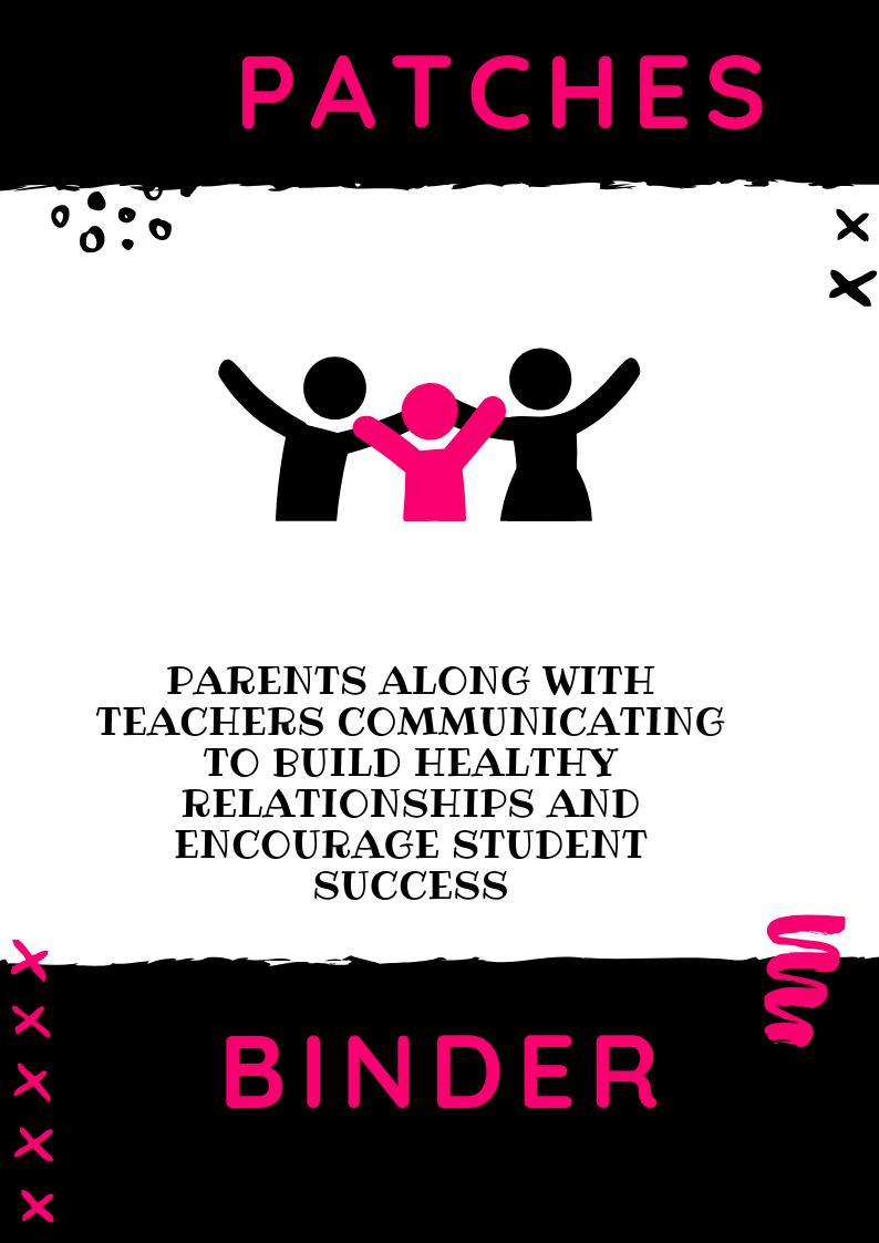 P.A.T.C.H.E.S Parent Binder Download Pink