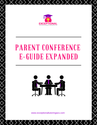 Parent Conference E-Guide Expanded