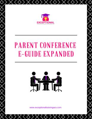 Parent Conference E-Guide Uncut Digital