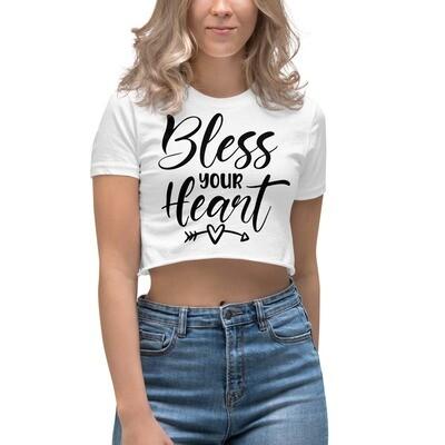 Bless Your Heart Women's Crop Top