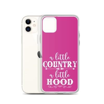 A Little Country A Little Hood iPhone Case
