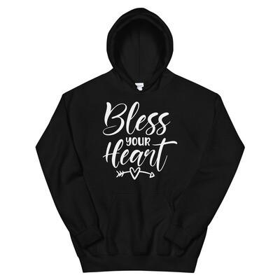 Bless Your Heart Unisex Hoodie/ Gildan 18500