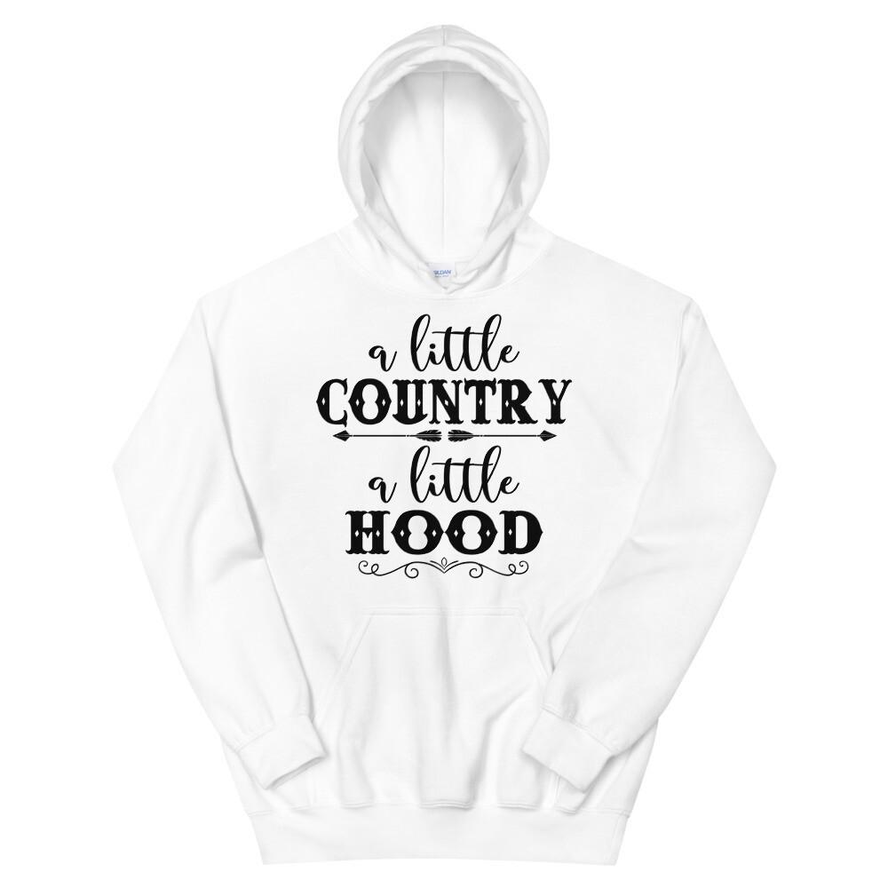 A Little Country A Little Hood Unisex Hoodie/ Gildan 18500