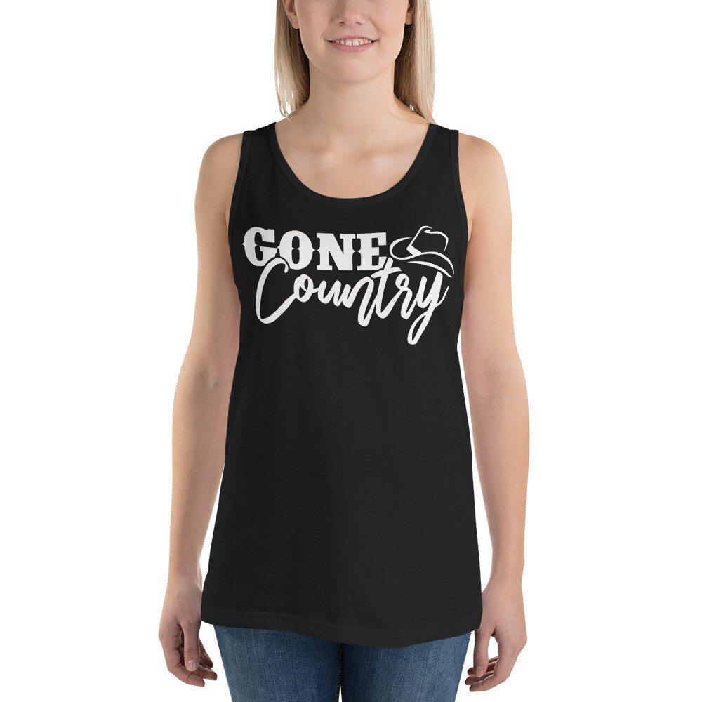 Gone Country Unisex Tank Top/ Bella + Canvas 3480