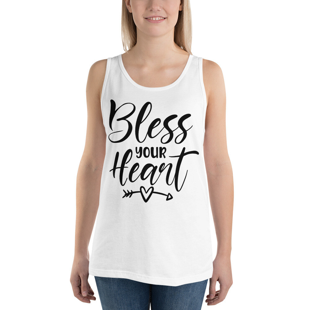 Bless Your Heart Unisex Tank Top/ Bella + Canvas 3480