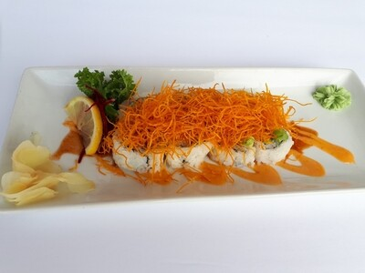 Spicy Mad Salmon Roll
