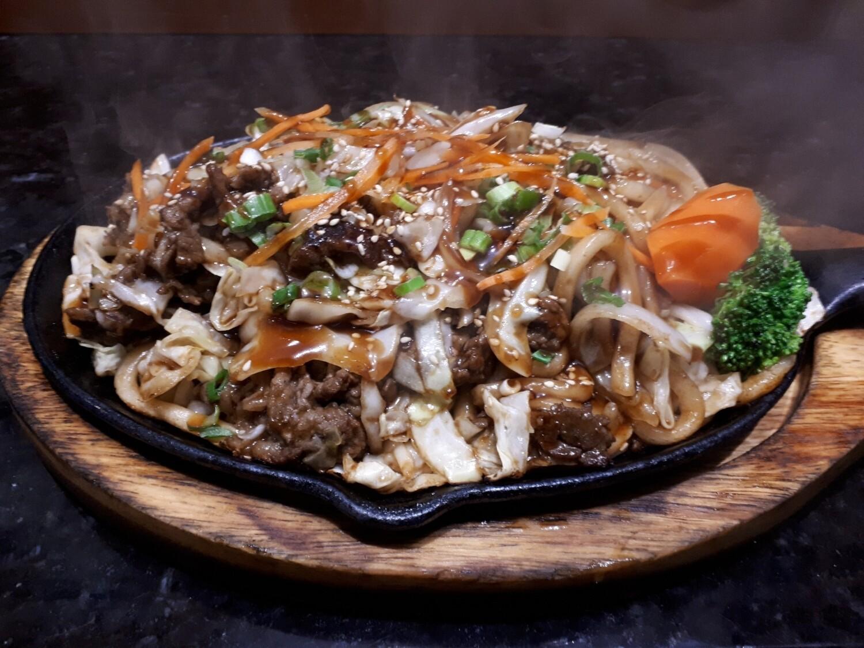 Beef Yaki Udon