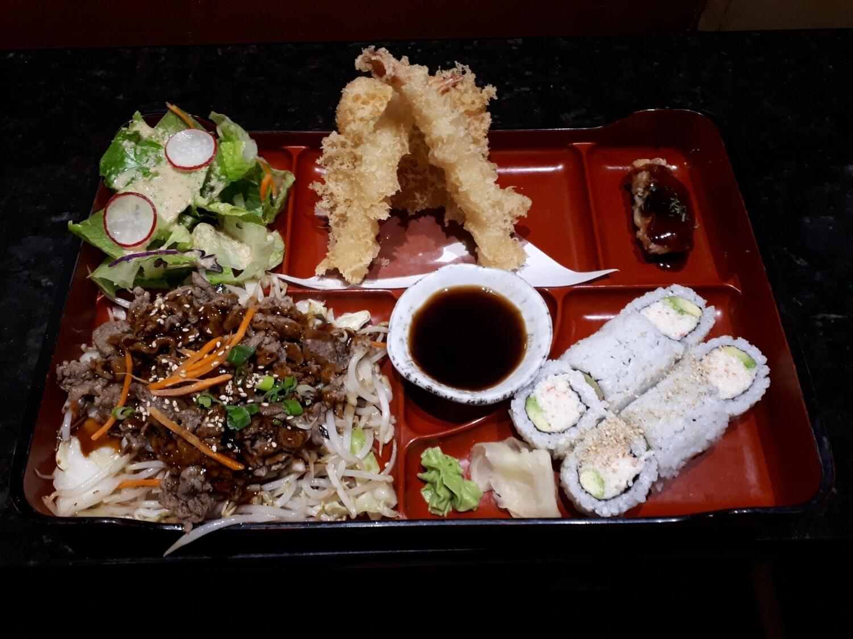California Bento (Beef) - Lunch