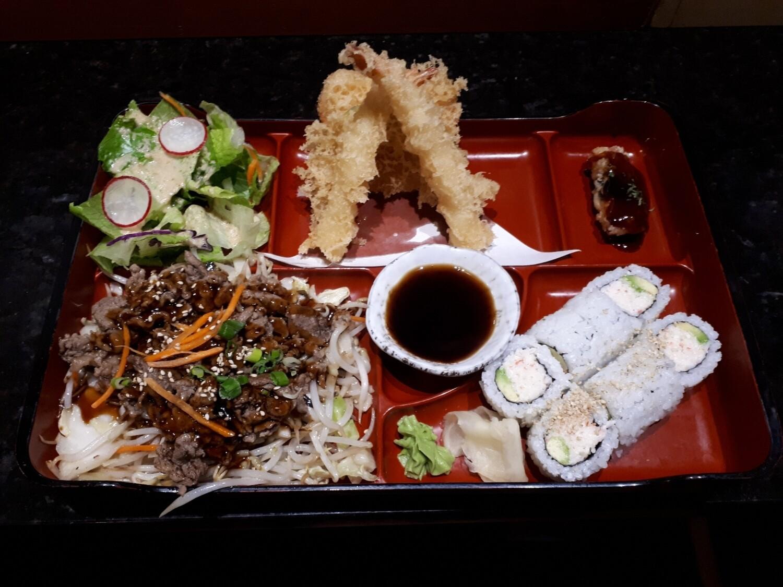 California Bento (Beef) - Dinner