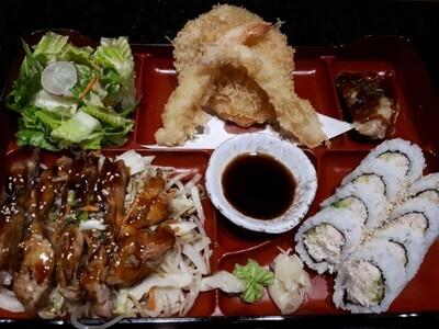 California Bento (Chicken) - Dinner