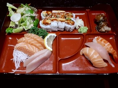 Sushi & Sashimi Bento - Dinner