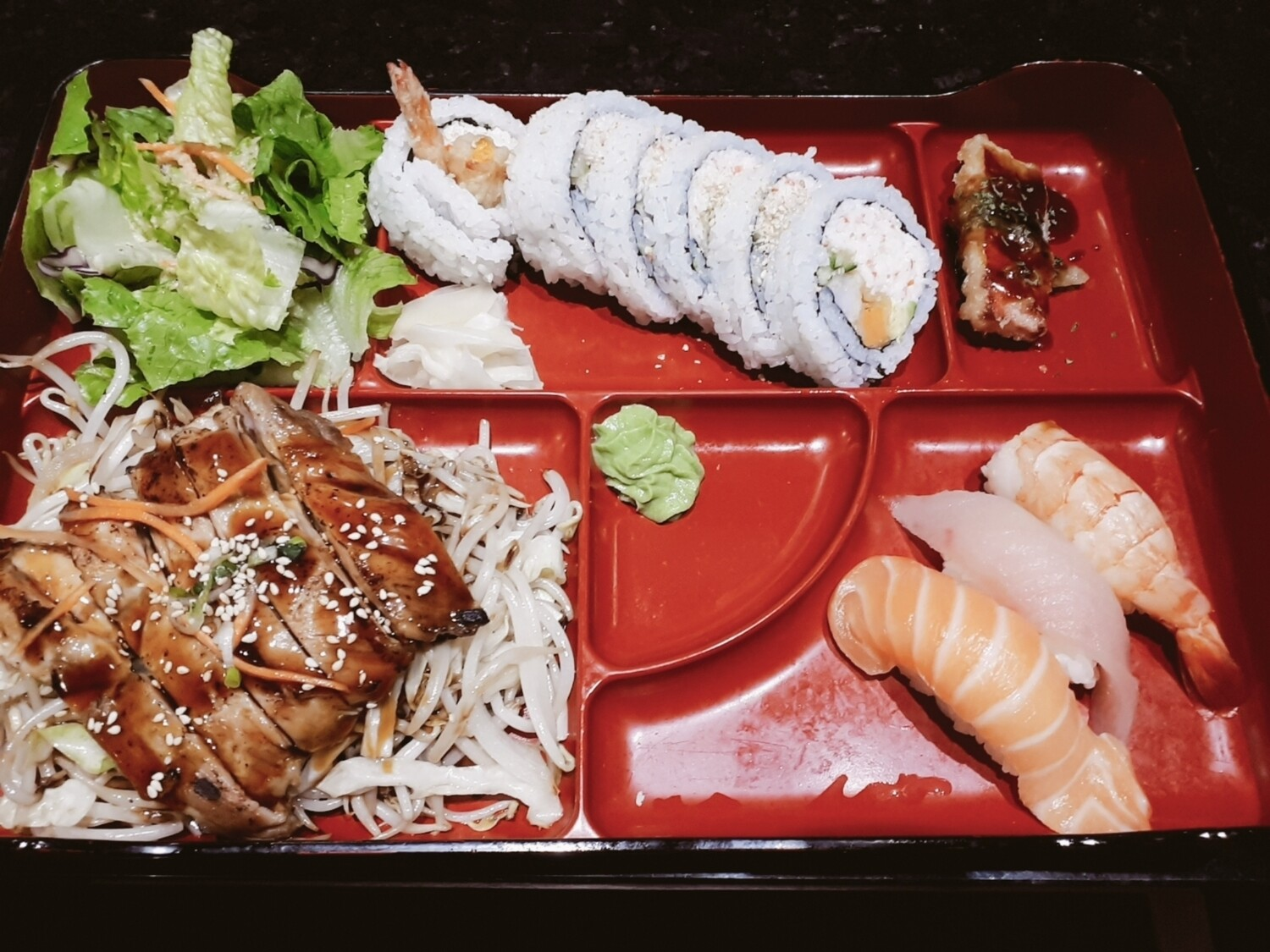 Sushi Bento (Chicken) - Lunch